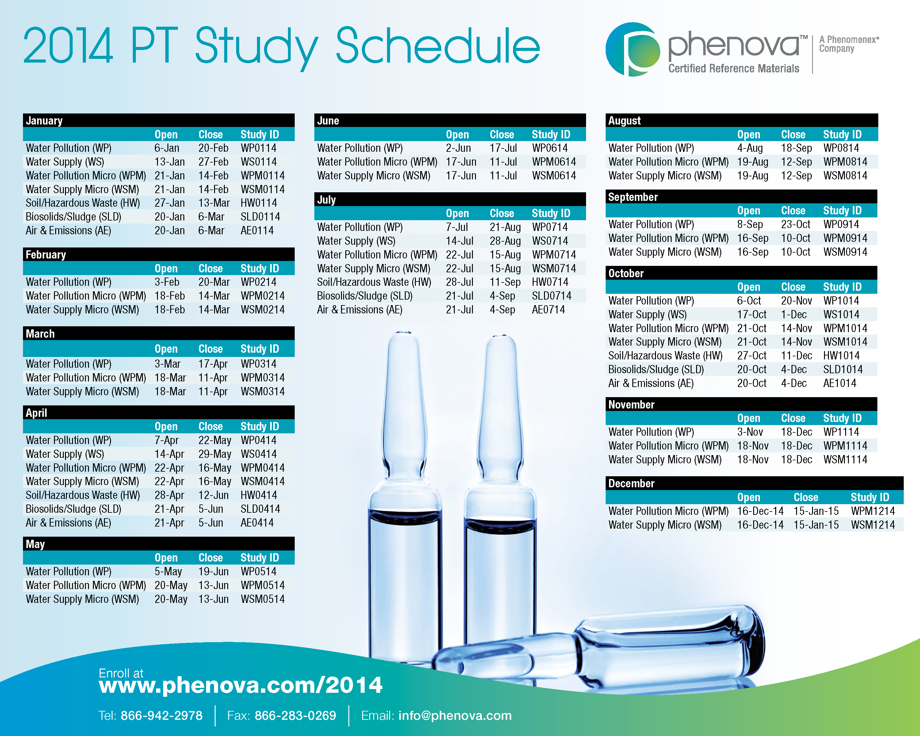 study schedule printable